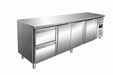 SARO Kühltisch inkl. 2er Schubladenset KYLJA 4110 TN-Gastro-Germany