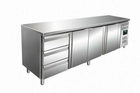 SARO Kühltisch inkl. 3er Schubladenset KYLJA 4130 TN-Gastro-Germany