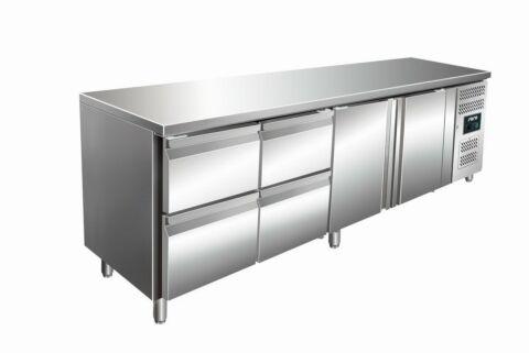SARO Kühltisch inkl. 2 x 2er Schubladenset KYLJA 4140 TN-Gastro-Germany