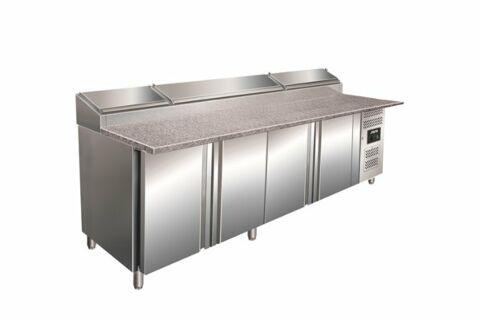 SARO Belegstation, Granitarbeitsplatte - 1/3 GN SH 2500-Gastro-Germany