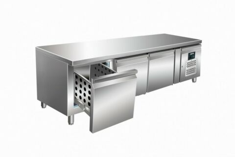 SARO Unterbaukühltisch mit Schubladen UGN 3100 TN-3S-Gastro-Germany