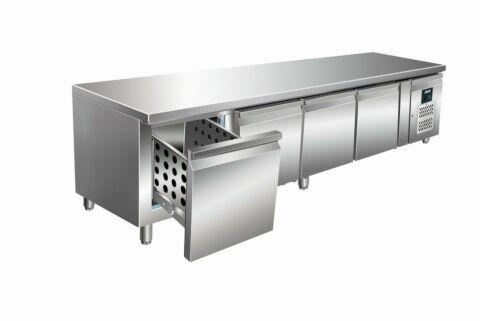 SARO Unterbaukühltisch mit Schubladen UGN 4100 TN-4S-Gastro-Germany