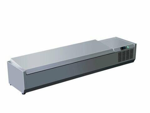 SARO Kühlaufsatz mit Deckel - 1/3 GN VRX 1400 S/S-Gastro-Germany