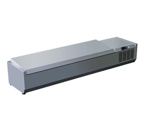 SARO Kühlaufsatz mit Deckel - 1/3 GN VRX 1600 S/S-Gastro-Germany