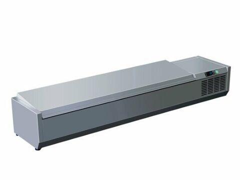 SARO Kühlaufsatz mit Deckel - 1/3 GN VRX 1800 S/S-Gastro-Germany