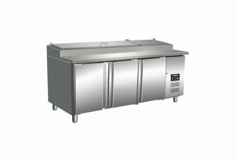 SARO Zubereitungstisch mit Umluftventilato - 1/3 GN SH 3070-Gastro-Germany