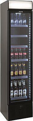SARO Getränkekühlschrank mit Werbetafel - schmal DK 134-Gastro-Germany