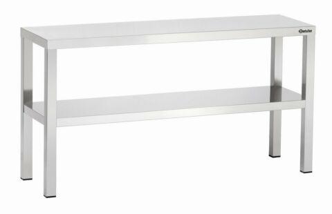 Aufsatzbord, B800, 2 Borde,800x350x650 mm-Gastro-Germany