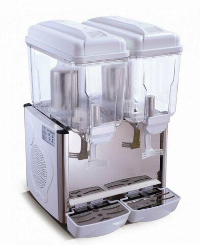 SARO Kaltgetränke-Dispenser COROLLA 2W weiß, Inhalt: 2x 12 Liter-Gastro-Germany