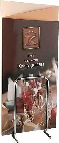 Tischkartenhalter PROFI, 9,5x7,5 cm-Gastro-Germany