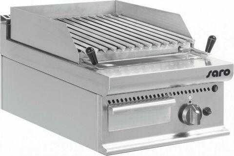 SARO Gas-Lavasteingrill TischE7/BS1BB-Gastro-Germany