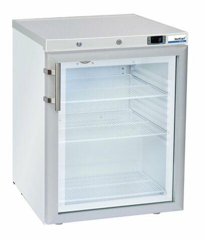 Umluft-Gewerbekühlschrank RCG 200 GL, weiß-Gastro-Germany