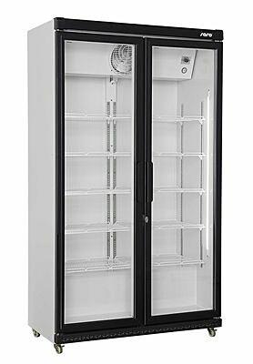 SARO Getränkekühlschrank mit Glastür, 2-türig GTK 850 OC-Gastro-Germany