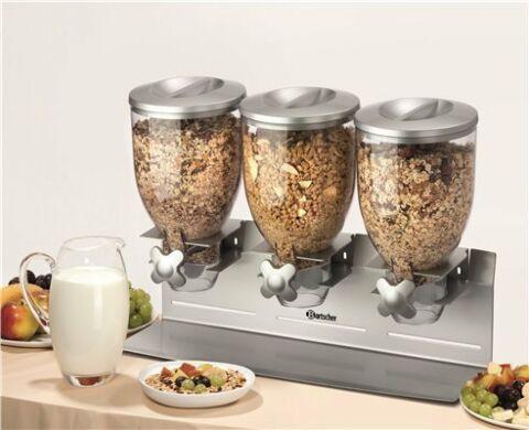 Bartscher 3-er Cerealienspender Müslispender-Gastro-Germany