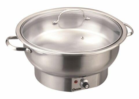 Bartscher Elektro-Chafing Dish rund 3,8L-Gastro-Germany