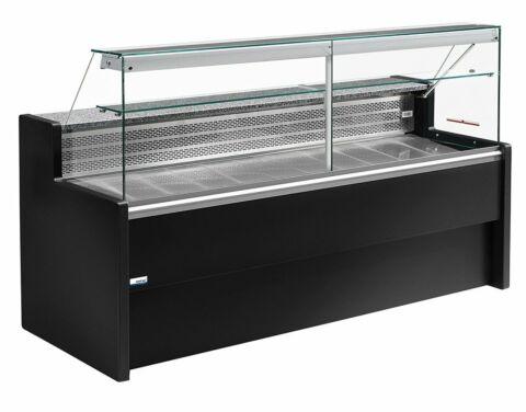 Freikühltheke TIBET 150, statische Kühlung, Unterbaukühlung-Gastro-Germany