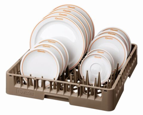 Tellerkorb/Tablettkorb 500x500x100-Gastro-Germany