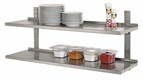 Wandregal Set, 1200x355 komplett-Gastro-Germany
