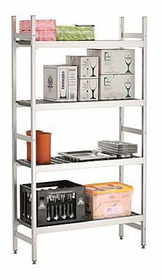 Regalsystem Kit 1, B960,960x360x1800 mm-Gastro-Germany