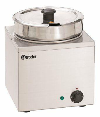 Bartscher Bain-Marie Hotpot 1 Einsatztopf à 6,5 Liter-Gastro-Germany
