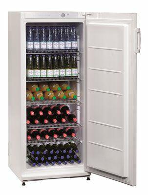 Flaschenkühlschrank 270 LN, 600x620x1450 mm, 267 Liter-Gastro-Germany