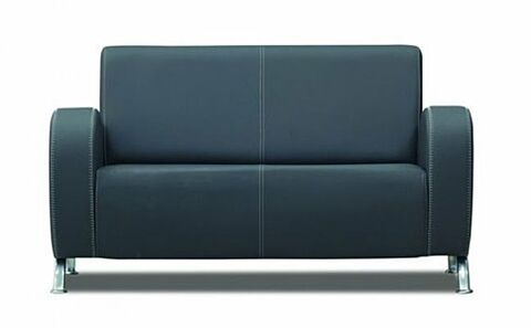 MELODI Sofa 2 Sitzer Grau-Gastro-Germany