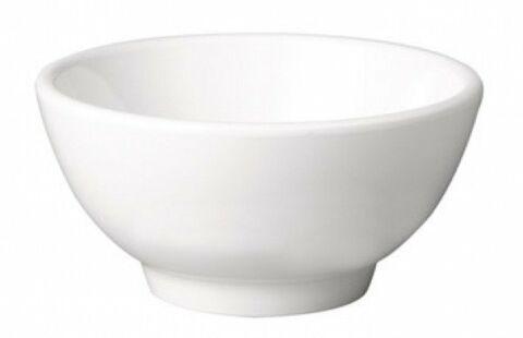 Schale rund Melamin, Weiß, Durchmesser 9,5 cm-Gastro-Germany
