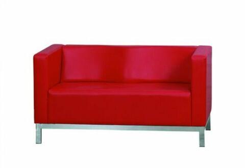 ELIPS Sofa 2 Sitzer Rot-Gastro-Germany