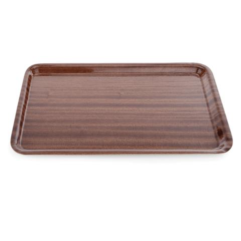 GN Tablett Tray 90, 1/1, MDF Holzoptik-Gastro-Germany