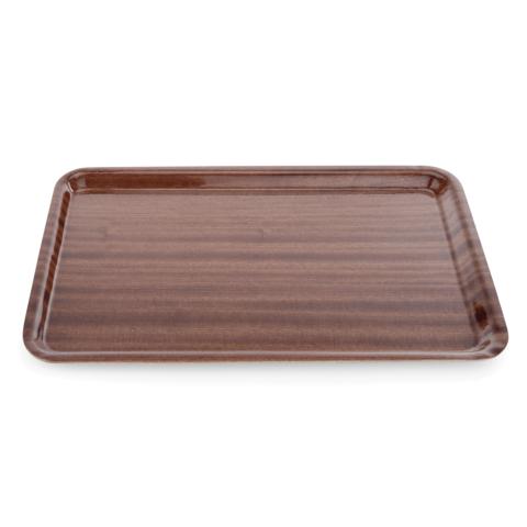 Tablett Tray 90, 45 x 34 cm, MDF Holzoptik-Gastro-Germany