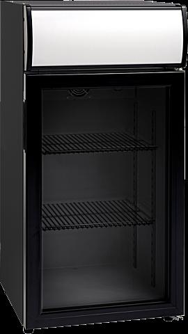 Glastür Kühlschrank mit Display SCC 82 GDU