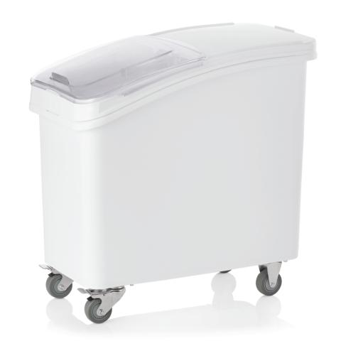 Lebensmittelbehälter, 120 ltr., 78 x 47 x 77,5 cm, Polyethylen/Polycarbonat-Gastro-Germany