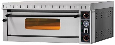 GAM Elektro Pizzaofen MD6 TOP,  Vollschamott, 400 V, für 6 Pizzen-Gastro-Germany