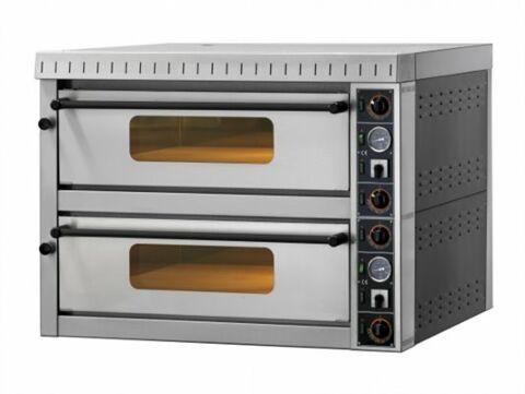 GAM Elektro Pizzaofen MD44 TOP,  Vollschamott, 400 V, für 8 Pizzen-Gastro-Germany