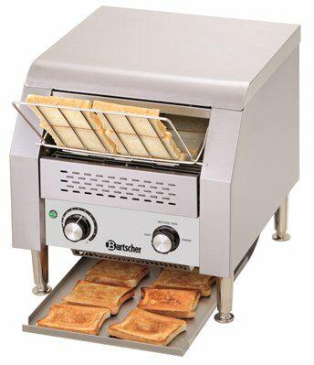 Bartscher Profi Durchlauftoaster Toaster bis 150 Toasts/Std.-Gastro-Germany
