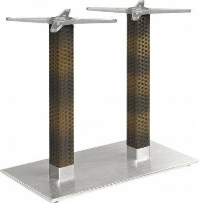 Tischgestell Bella-Double für Platten bis 120x80 cm