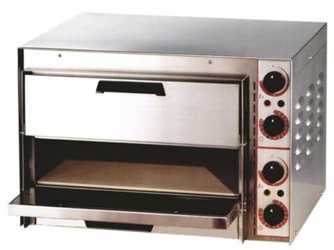Pizzaofen FP-66R elektro, 2x Pizza Ø 33 cm 230 V-Gastro-Germany