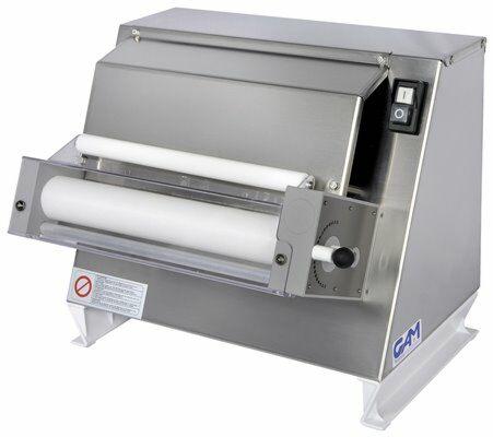 GAM RM30 Kompakt Teigausroller Teigausrollmaschine ø 300mm-Gastro-Germany