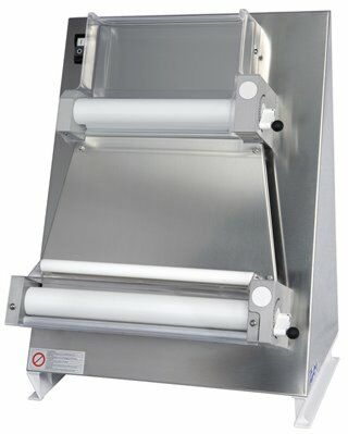 GAM Teigausrollmaschine R40P mit Fußpedal 400x700mm für eckige Pizzen-Gastro-Germany