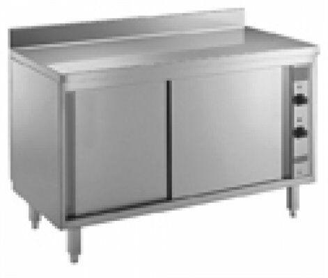 Umluft Wärmeschrank mit Aufkantung, 2000x700x850mm-Gastro-Germany
