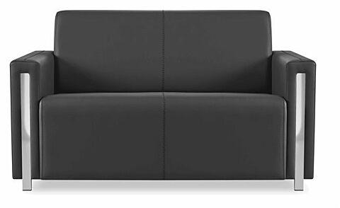 GOLF Sofa 2 Sitzer Schwarz-Gastro-Germany