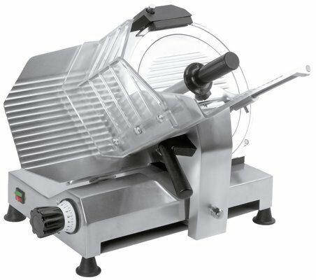 GAM Profi Aufschnittmaschine GPE 250, Klinge Ø 250 mm, 230V-Gastro-Germany