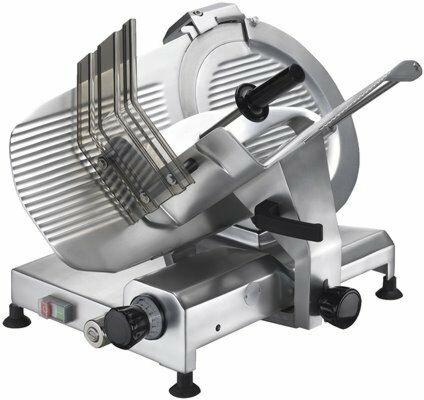 GAM Profi Aufschnittmaschine GLE 370, Klinge Ø 370 mm, 230V-Gastro-Germany