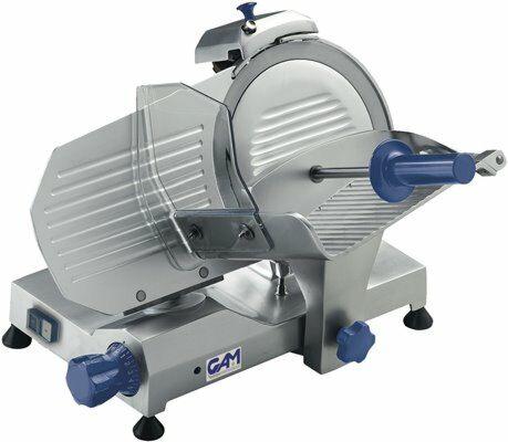 GAM Profi Aufschnittmaschine MI 250, Klinge Ø 250 mm, 230V-Gastro-Germany
