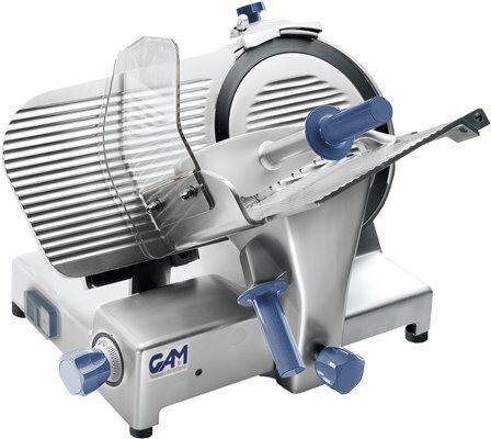 GAM Profi Aufschnittmaschine PAG 350, Klinge Ø 350 mm, 400V-Gastro-Germany
