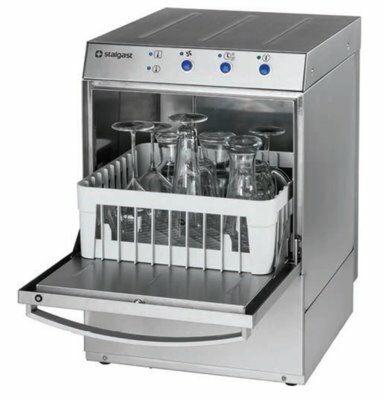 Gläserspülmaschine Stalgast GL221 Korb: 40x40 cm mit Ablaufpumpe, Dosierpumpen-Gastro-Germany
