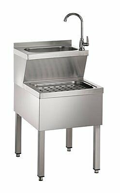 Handwaschausgussbecken HWB57 500x700x850 mm-Gastro-Germany