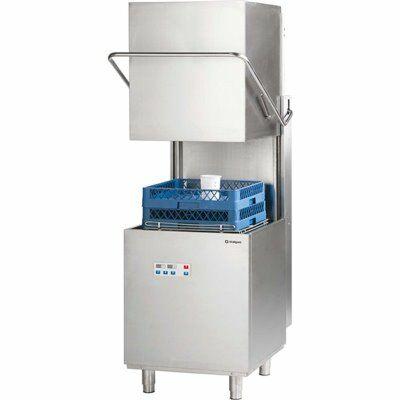Stalgast Haubenspülmaschine HA223 Digital Power mit Dosierpumpe & Drucksteigerungspumpe-Gastro-Germany