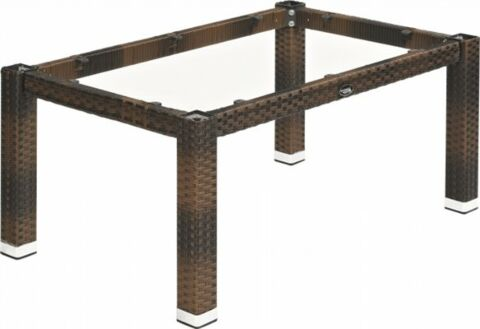Lounge Tischgestell LINA für80x80 cm Platten, burned-Gastro-Germany