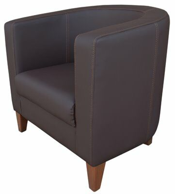 Lounge Cocktailsessel Lucy PRO Braun, 1 Sitzer 77 cm-Gastro-Germany